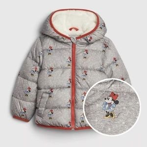 Brand New GAP x Minnie Mouse Puffer Jacket
